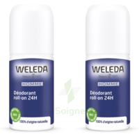 Weleda Duo Déodorant Roll-on 24h Homme 100ml à Arcachon