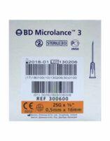 Bd Microlance 3, G25 5/8, 0,5 Mm X 16 Mm, Orange  à Arcachon