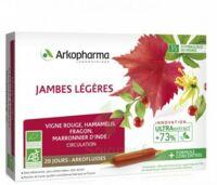 Arkofluide Bio Ultraextract Solution Buvable Jambes Légères 20 Ampoules/10ml à Arcachon