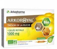 Arkoroyal Gelée Royale Bio 1000 Mg Solution Buvable 20 Ampoules/10ml à Arcachon