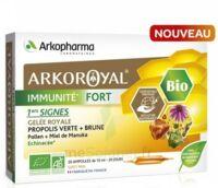 Arkoroyal Immunité Fort Solution Buvable 20 Ampoules/10ml à Arcachon