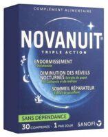 Novanuit Triple Action Comprimés B/30 à Arcachon
