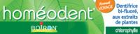 Boiron Homéodent Soin Complet Dents Et Gencives Pâte Dentifrice Chlorophylle Format Voyage T/25ml à Arcachon