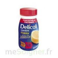 Delical Boisson Hp Hc Concentree Nutriment Vanille 4bouteilles/200ml à Arcachon