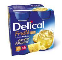 Delical Boisson Fruitee Nutriment Ananas 4bouteilles/200ml à Arcachon