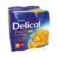 Delical Boisson Fruitee Nutriment Orange 4bouteilles/200ml à Arcachon