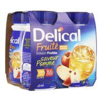 Delical Boisson Fruitee Nutriment Pomme 4bouteilles/200ml à Arcachon