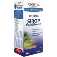 Ortis Propex Sirop Fluidifiant 200ml à Arcachon