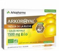 Arkoroyal Gelée Royale Bio 1500 Mg Solution Buvable 20 Ampoules/10ml à Arcachon