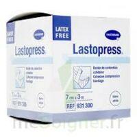 Lastopress® Bande De Compression Cohésive 7 Cm X 3 Mètres - Coloris Blanc à Arcachon