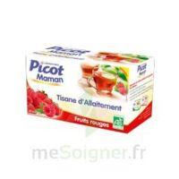 Picot Maman Tisane D'allaitement Fruits Rouges 20 Sachets à Arcachon