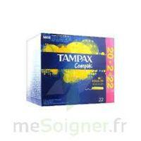 Tampax Compak - Tampon Régulier à Arcachon