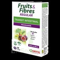 Ortis Fruits & Fibres Regular Comprimés B/15 à Arcachon