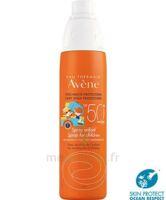 Avène Eau Thermale Solaire Spray Enfant 50+ 200ml à Arcachon